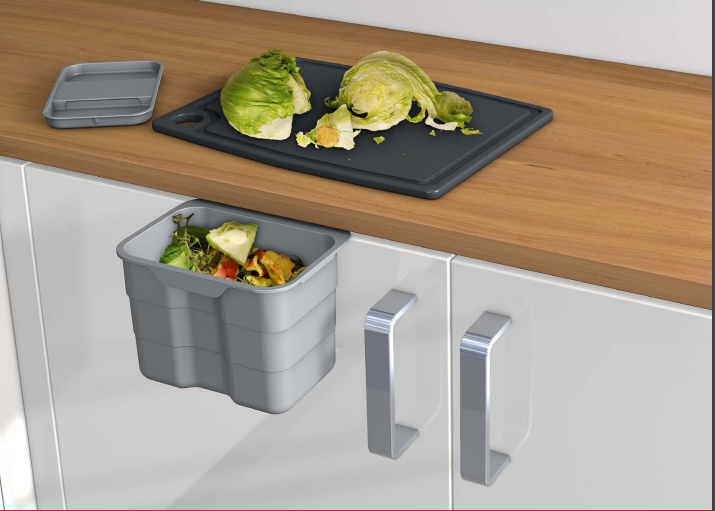 ninka bioboy abfallbehälter abfallsammler abfalleimer 4,2 liter