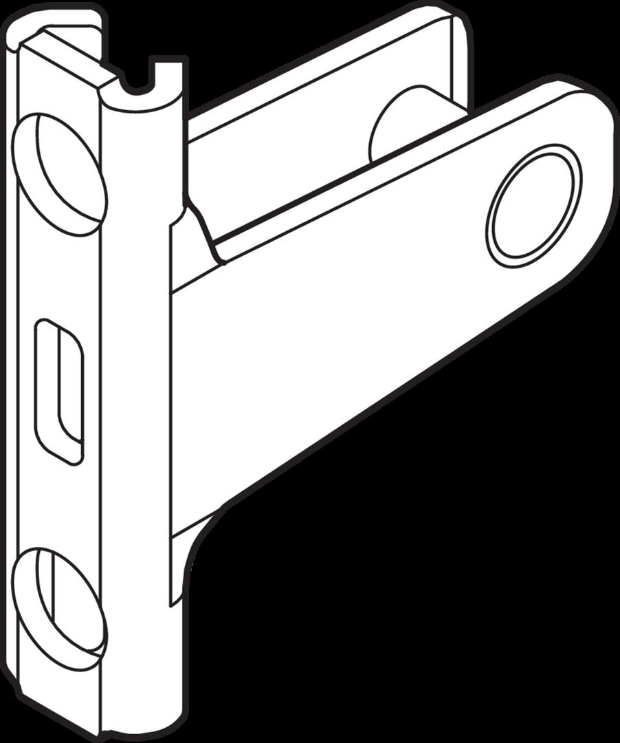 BLUM LEGRABOX Frontbefestigung EXPANDO für Höhe N ZF7N70E2